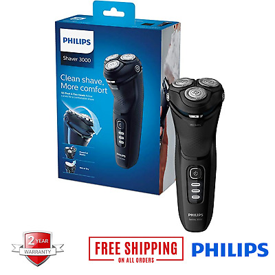 View Details Philips Men's Cordless Electric Shaver Beard Trimmer Rotary Razor Machine • 76.97£