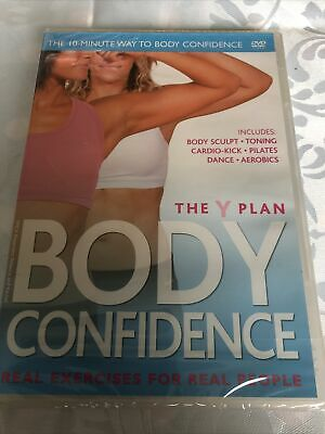 Y Plan - Body Confidence (DVD, 2010) New & Sealed • 2.20£