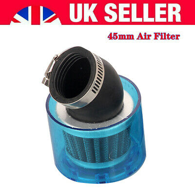 £8.74 • Buy Motorcycle Air Filter 45mm Bike Cone Style Air Filter Fit For Pit Bikes Refit