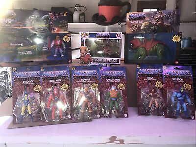 $280 • Buy 9 Pc Lot Masters Of The Universe Retro 2020