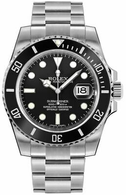 $ CDN19603.76 • Buy Rolex Submariner Date Black Dial Oystersteel Automatic Men's Watch 116610LN-0001