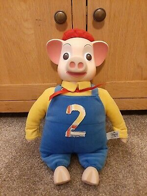 PINKY AND PERKY PIG VINTAGE PLUSH 15 Inch  SOFT TOY RARE RETRO COLLECTABLE VGC  • 25.95£