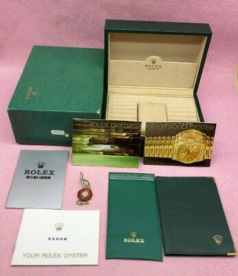 $ CDN298.44 • Buy GENUINE ROLEX DAY-DATE 18238 VINTAGE 70.00.55 Watch Box Case Booklet Tag B4464