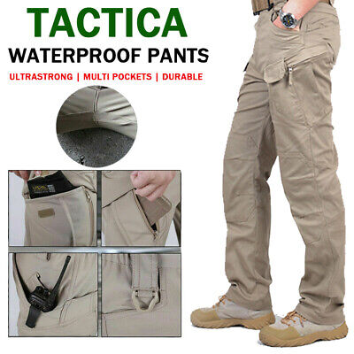 £16.99 • Buy Tactical Trousers Soldier Fishing Mens Cargo Hiking Casual Pants Combat Outdoor