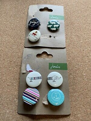 JOULES Various Pin Badge Collection Farm Tractor (7 Badges) • 3£