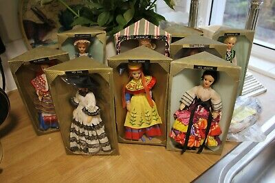 Rexard Dolls X 10 Collection Mostly Boxed 1960s; Twinkle Comic Interest • 15£