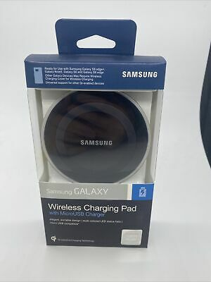 $ CDN22.82 • Buy Samsung Galaxy Qi Wireless Fast Charger Charging Pad W/micro USB Charger
