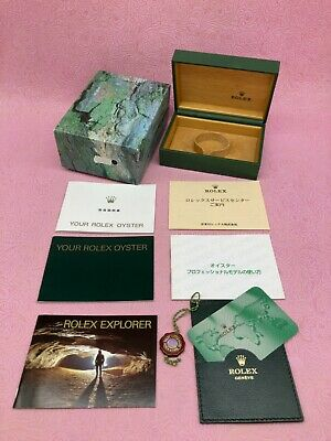 $ CDN215.60 • Buy ROLEX GENUINE EXPLORER Ⅰ 114270 Watch Box Case Booklet Calendar 68.00.71 B4473