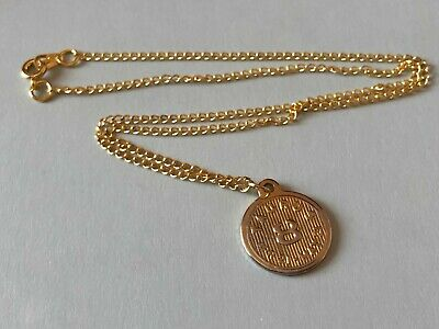 Zodiac. TAURUS Horoscope Pendant Necklace, Star Sign, Charm. Vintage 1970's. • 4£
