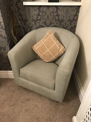 Marks And Spencer Tub Chair Mint Green • 50£