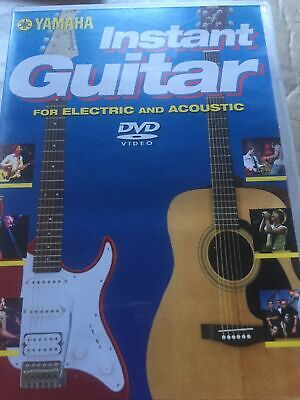 Yamaha Instant Guitar DVD Tuition Learn Electric & Acoustic Guitar  • 2£