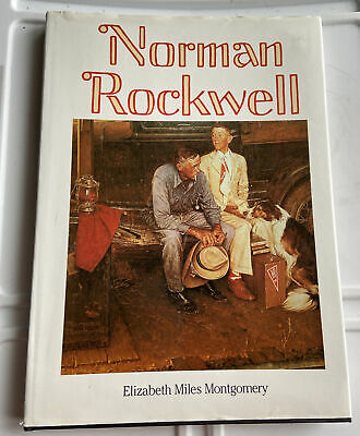 $ CDN12.91 • Buy Vtg Norman Rockwell Big Book By Elizabeth Miles Montgomery Hardcover Illustrated