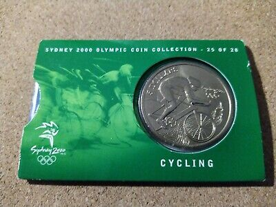 Sydney 2000 Olympic Coin Collection #25 Cycling  • 3.49£