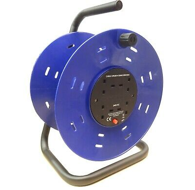 £17.99 • Buy 4 Gang Way Plastic Empty Cable Reel Drum - Electric Extension Up To 50M Repair