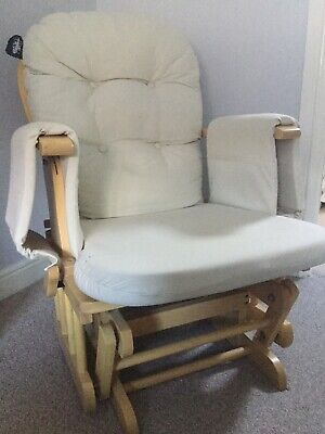 Nursery Rocking Chair And Foot Stool • 7.80£