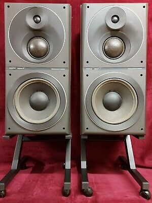 Bang & Olufsen BEOVOX S 80.2 3WAY 80W 8Ohm HI-FI STEREO SPEAKERS GOOD CONDITION. • 51.01£