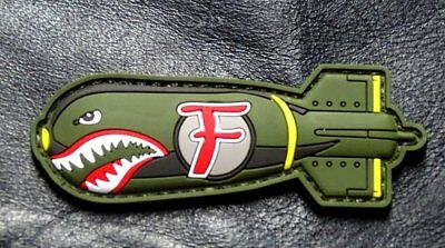 $7.95 • Buy Dropping F Bomb WW 2 Style Tactical Morale Patch (HOOK-3D PVC Rubber-MTB1)