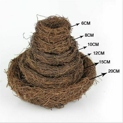 £7.18 • Buy Bird Nest Natural Wood For Small Birds Canary Finches Breeding Box Nesting Place