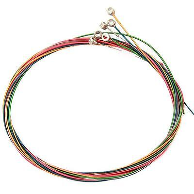 $ CDN1.88 • Buy Acoustic Guitar Strings One Rainbow Colorful Color String 6pcs/set Accessories C
