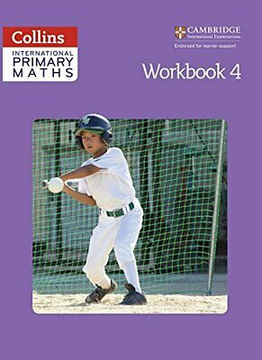 Collins International Primary Maths �  Workbook 4 By Clissold, Caroline Book • 6.49£