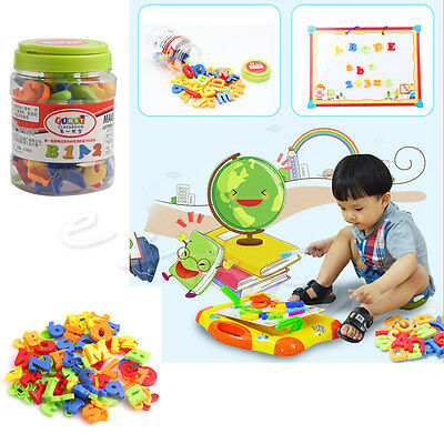 78pcs Magnetic Letters Numbers Alphabet Capital & Lower Case Learning Toy Gift • 14.22£