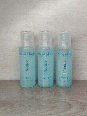 Crabtree And Evelyn La Source Shampoo 3x30ml New Travel Size Gift • 2.99£