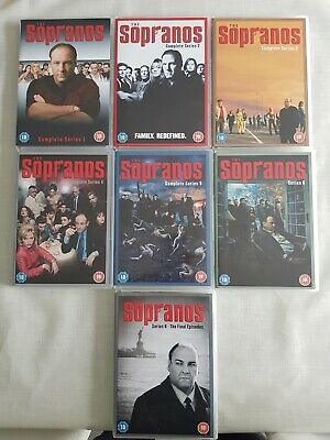 The Sopranos - Series 1-6 - Complete Boxed Gift Set. • 3.18£