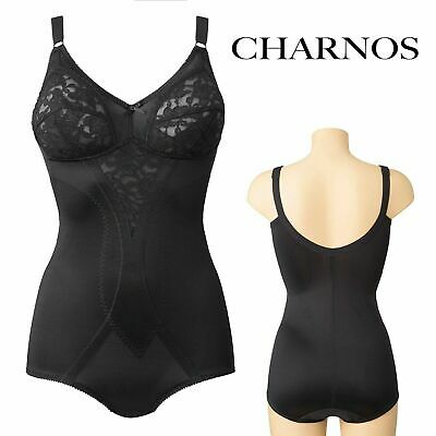 £9.99 • Buy Charnos Hourglass Soft Cup Pant Bodyshaper Size 42b Black Ch4612