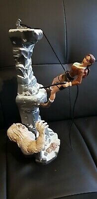 Tomb Raider Playmates 1999 Adventures Of Lara Croft Figure Diorama Yeti • 30£