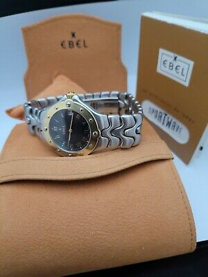 Ebel Sport Wave Solid 18k Bezel Box And Papers Warranty Card Good Condition  • 425£
