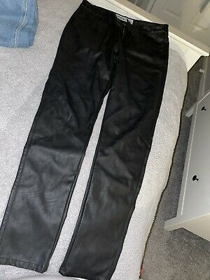 Newlook Leather Jeans Size 14  • 7.70£