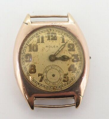 $ CDN145.95 • Buy Vintage Rolex 9ct Solid Gold Snap Back Case 15 Jewel Wrist Watch $1 N/R