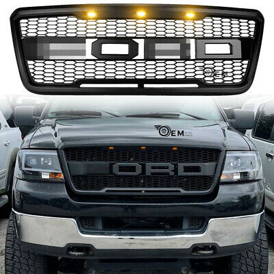 $141.99 • Buy OEM Grille For Ford F150 2004-2008 Pickup Fit 2005 2006 2007 Front Bumper
