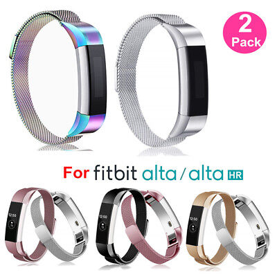 AU13.99 • Buy BULKSALE 1/2Pcs Stainless Steel Milanese Straps For Fitbit Alta & Alta HR Band A