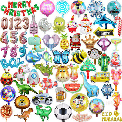 £2.15 • Buy Animal Helium Foil Balloons Kids Party Baby Shower Birthday Decor Ballons Gift