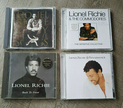 Lionel Richie 4 X CDs Renaissance, Definitive, Back To Front,Truly Love • 2.99£