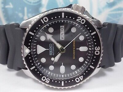 $ CDN84.34 • Buy Seiko 200m Scuba Divers Skx007 Day/date Mens Watch 7s26-0020 Black (sn 733694)