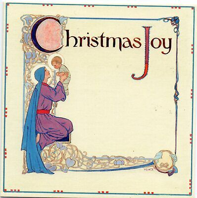 Margaret Tarrant Christmas Joy Medici  Christmas Greeting Card  • 1.75£