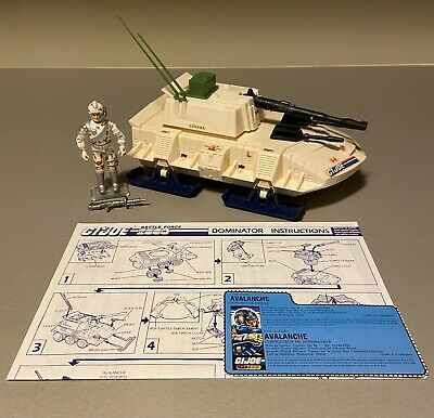 $ CDN0.99 • Buy GI Joe 1987 BF 2000 Dominator 100% Complete W/Avalanche, FC And Blueprints ARAH
