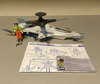 $ CDN7.50 • Buy GI Joe 1988 Skystorm X-wing Chopper 100% Complete W/Windmill, FC, And Blueprints