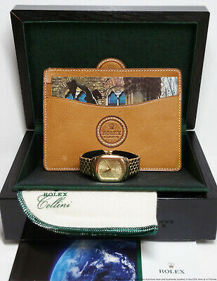 $ CDN3633.14 • Buy Rolex Cellini 6631 18k Gold 79.5g Ladies Large Watch Box Papers