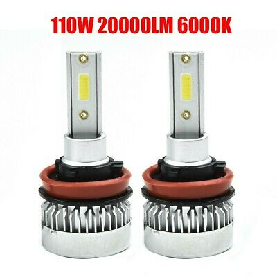 AU14.49 • Buy 2 PCS H11/110W 20000LM LED Headlight Globes Beam Bulbs 6000K High Power LD2086