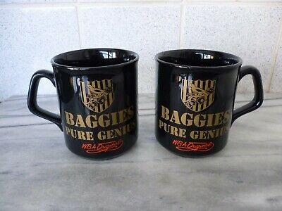 Pair Of West Bromwich Albion Mugs • 8£