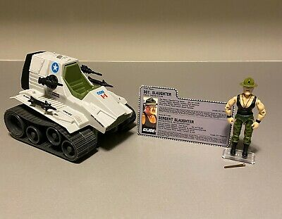 $ CDN5.50 • Buy GI Joe 1986 Triple T 100% Complete W/Sgt. Slaughter And Filecard ARAH
