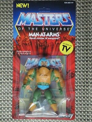 $35 • Buy Masters Of The Universe Man-At-Arms Action Figure MOC Super 7 Vintage Series