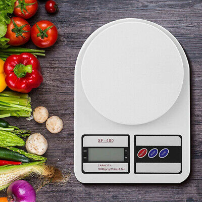 10KG/1g LCD Digital Kitchen Scale Tool Diet Food Balance Bowl Electronic Weight • 6.22£