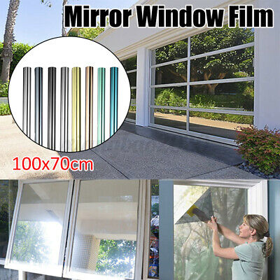 UK One Way Mirror Window Film Privacy Reflective Glass Sticker Effect Tint • 7.49£