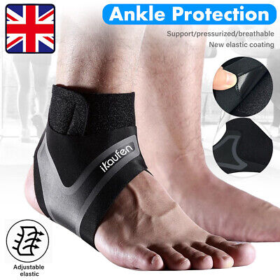 Compression Ankle Support Foot Drop Brace Splint Recovery Stabilizer Protector • 2.99£