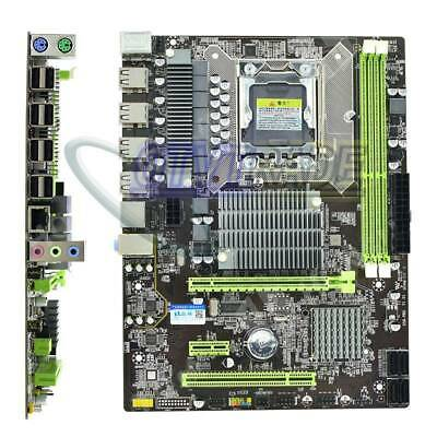 $ CDN94.67 • Buy Hongshuo X58 Pro PC Desktop Computer Gaming Motherboard LGA 1366 Socket