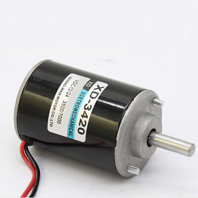 12/24V 30W Permanent Magnet Electric DC Motor High Speed For DIY Generator UK • 16.99£